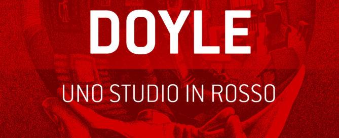 Copertina ebook - Uno studio in rosso - Conan Doyle