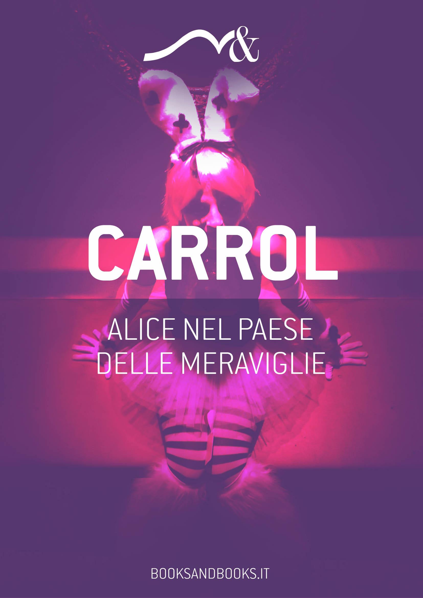 Copertina ebook - Alice nel paese delle Meraviglie - Lewis Carroll