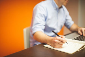 seo copywriter al lavoro